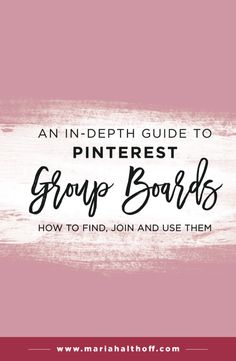We all know Pinterest group boards can be super helpful in growing your Pinterest audience and for increasing the likelihood of your pins going viral. I struggl