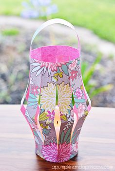 paper lantern - so cute for summer