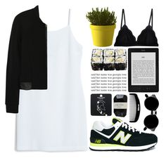 """""""Sem título #637"""" by andreiasilva07 ❤ liked on Polyvore featuring Muuto, Cosabella, MANGO, New Balance, T By Alexander Wang, Retrò, Topshop and Cassia"""