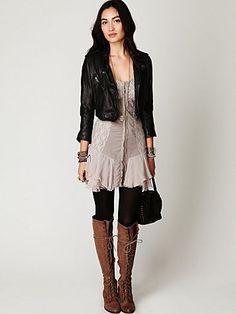 Love the corset dress!