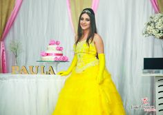 Festa de 15 anos da Paulinha, linda princesa! #15anos #princesa #linda