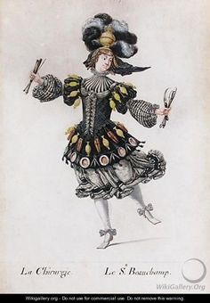 The Dancer Beauchamp As 'La Chirurgie', by Henri Gissey