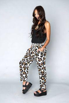 Show Me Your Mumu Shade Pants - Queen Cheetah