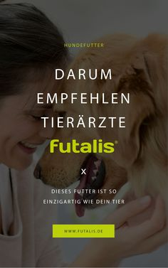 Jeder #Hund hat einen einzigartigen Bedarf an Energie und Nährstoffen wie Protein, Mineralstoffen und Vitaminen. Daher stellt das #Start-up futalis für jeden #Hund einindividuelles #Trockenfutterher, das speziell auf ihn zugeschnitten ist. Mithilfe einer #tierärztlich fundierten Rationsberechnung wird die #optimale #Futterzusammensetzung für Deinen Hund ermittelt. | futalis.de #Hundefutter #Trockenfutter #Nassfutter #getreidefrei #artgerecht