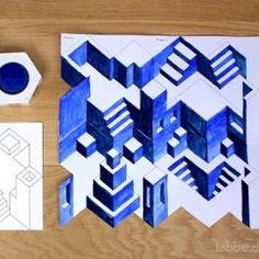 fluchtpunktperspektive landschaftsraum fluchtpunktperspektive perspektive und kunstunterricht. Black Bedroom Furniture Sets. Home Design Ideas