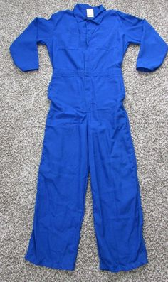 Flame Resistant 4.6 cal #Nomex IIIA Industrial Coverall Snap Wrist 42-44 Regular  #NeeseWearLLC