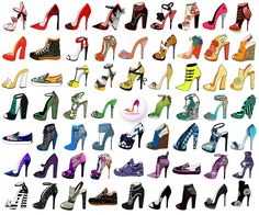 shoes design app_YOU ARE THE DESIGNER_rainbow shoes