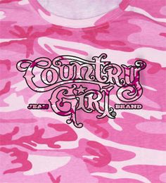 Country Girl ® Pink Camo T-Shirt