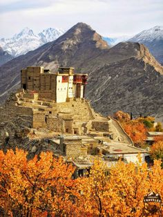Baltit Fort in Hunza Valley in Northern Pakistan, #Pakistan,#Hunza,#travel,#UNESCO