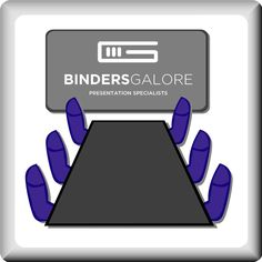 Binders Galore - Your Presentation Specialists  Let us help you with your marketing materials for your business meetings.  #marketingmaterials #presentation #oakvilleprinter