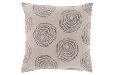 Accent Pillow-Annayse Grey 18X18 - Main