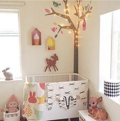 A sweet #nursery for baby boy or girl