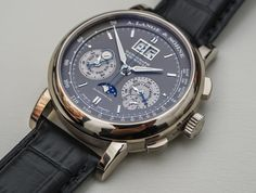 Hands-on review & original photos of the A. Lange & Söhne Datograph Perpetual watch with price, background, specs, & expert analysis.