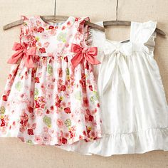 Take a look at the Sweet & Vintage event on zulily today!Aww I can see baby Mackenzie in this. Baby Girl Dress Patterns, Baby Clothes Patterns, Little Girl Dresses, Girls Dresses, Toddler Dress, Toddler Outfits, Kids Outfits, Kids Frocks, Frocks For Girls