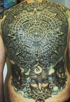 so sicckkkkk. Detailed Aztec back piece - Eclipse Tattoo Studio Imgur