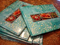 Make your own Cookbook! These make great gifts.