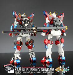 GUNDAM GUY: HGBF 1/144 Kamiki Burning Gundam - Customized Build