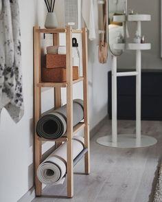 Interior Design Inspiration, Home Decor Inspiration, Yoga Inspiration, Workout Room Home, Meditation Corner, Zen Space, Extra Rooms, Relax, Elle Decor