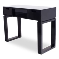 """""""Ming"""" Black Manicure Table"""
