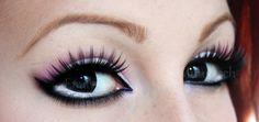 I like the eyelashes