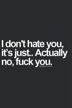 Fuck you - @wordporn