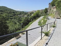 KNOTTING the hill town and its landscape   Vicovaro Italy   Luca Peralta Studio World Landscape Architecture