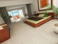 #Interceramic - Advance - Unglazed Rectified Porcelain Floor Tile