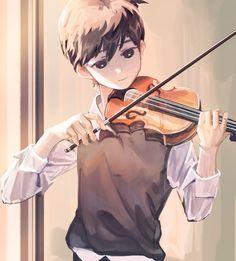 Cute Anime Boy, Anime Guys, Fanarts Anime, Anime Characters, Pretty Art, Cute Art, Poses Anime, Chibi, Persona Anime