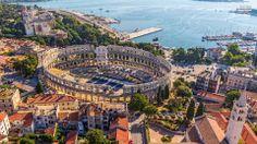 The Arena Amphiteathre - Pula, Croatia