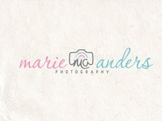 Premade Photography logo design photography watermark using customised handwritten initials. 5 files supplied including Watermark