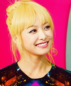 Victoria Song - Cute Blondie f(x)