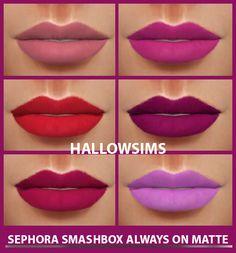 HallowSims : Sephora Smashbox Always on Matte.