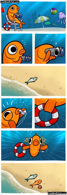Otros - Cuando ves un pez fuera del agua