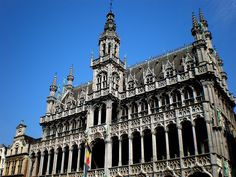 Maison du Roi, Marktplatz Brüssel (Belgien) by LOMO56, via Flickr