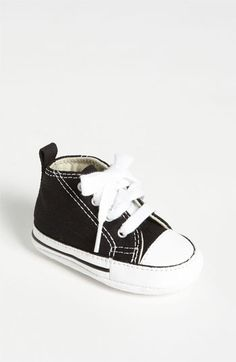 Wardrobe Necessity!!! Converse Chuck Taylor® Crib Sneaker (Baby) available at #Nordstrom