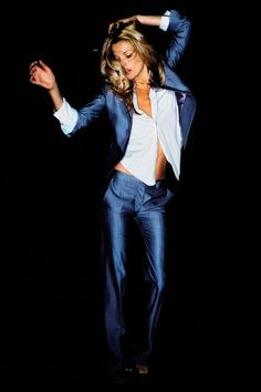 Kate Moss - April 2007. Love a lady in a a suit., Go To www.likegossip.com to get more Gossip News!