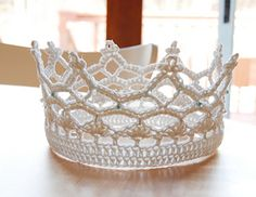 Royal is a crochet pattern for a crown.