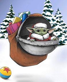 Star Wars Logos, Star Wars Humor, Star Wars Baby, Star Wars Christmas, Christmas Art, Christmas Paintings, Disney Christmas, Christmas Gifts, Star Wars Weihnachten
