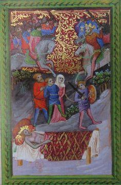 Manuscript ONB Cod. Vindobonensis 2762 Wenzel Bible Folio 59v Dating 1389 From Germany (exact location unknown) Holding Institution Österreichische Nationalbibliothek