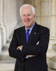 Sen. John Cornyn, R-TX, Official Portrait