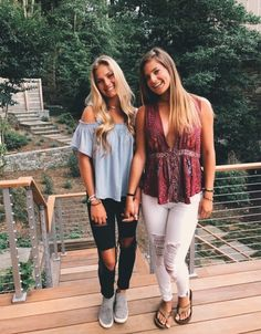 Spring Summer Fashion, Spring Outfits, Winter Outfits, Look Fashion, Fashion Outfits, Womens Fashion, Skinny Fashion, Best Friend Photos, Friend Pictures