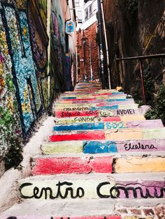 Graffiti steps