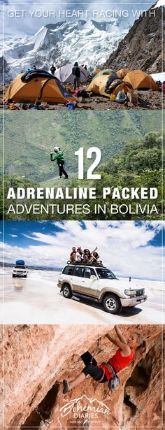 Bolivia is full of adventure for those looking to get their heart racing and…
