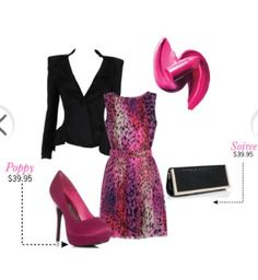 Love the colors! #fashion #outfit #style #justfab #styleboard