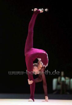 <<Alena Dyachenko (Ukraine)>> Gymnastics Photos, Rhythmic Gymnastics, Cheer Dance, Wearing Black, Leotards, Dancers, Ukraine, Flexibility, Kicks