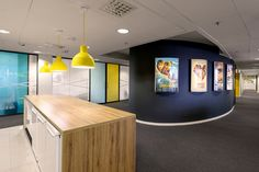 Kitchen at Yellow Film & TV's Helsinki offices
