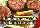 Hamburguesas veganas de soja texturizada :: recetas veganas recetas vegetarianas :: Vegetarianismo.net