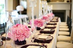 gossip girl inspired table scapes