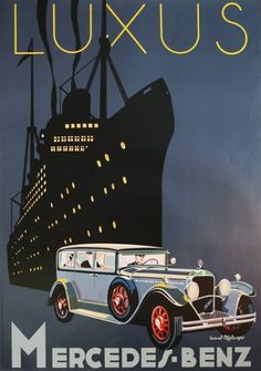 1000 ideas about vintage mercedes ads on pinterest for Mercedes benz poster