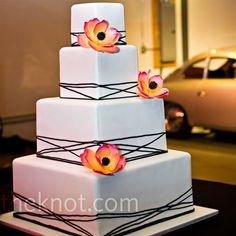 modern, cake
